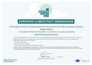 EU Klimapakt Botschafter Holger Holland